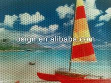 Solvent inkjet based reflective banner,outdoor banner material