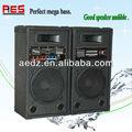 Single 10 polegadas venda direta da fábrica de dvd mp3 usb portable pa amplificador ativo para speake com usb/sd/mmc/eq/microfone sem fio