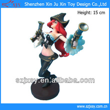 2013 New Product Legal of Legend LOL Miss Fortune Resin Figure