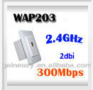 IEEE802.3af POE 300mbps high speed wall mount wireless access point