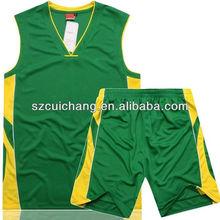 trendy European basketball uniform design