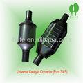 Convertidor catalítico variado para silenciador