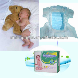Well-fitted Nonirritating Comfortable Sleepy Baby Diaper