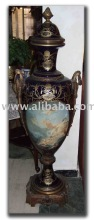 Large Antique Reproductions Porcelain Sevres Vase