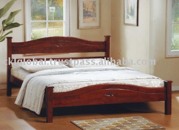 Furniture bedroom set rubber wood furniture rubber wood bedroom set
