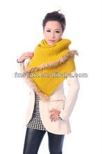 Long shawl fur edge covering,solid knitted pashmina ,winter pashmina