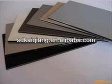 construction building material/aluminium composite plastic panel/PVC pine