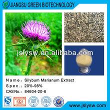 Milk thistle Extract,silybum marianum,milk thistle powder,Silymarin