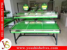 steel metal&iron fruit vegetable display rack