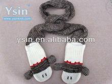 fashion new style monkey scarf&gloves