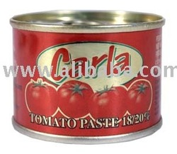 Italian Canned Tomato Paste