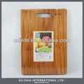 De madeira placa de desbastamento com buracos