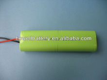Ni-MH 4.8V 500mAh Battery(Customized)/4.8V Batteries/Ni-MH Rechargeable Battery Pack 4.8V