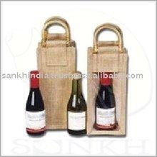 Single Wine Bottle Bags for Wine Shopping