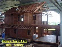 Wooden Prefab House Bali