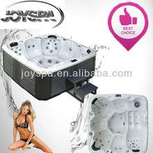 Portable high quality aristech acrylic backyard spa Balboa galvanic spa
