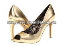 heel shoes!genuine leather ladies black fashion high heel formal shoes office wear