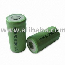 Nimh Rechargeable Battery SC 3300mAh