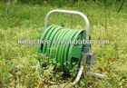 watering vegetable garden hose reel cart
