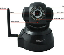 Network Home Surveillance System Wireless Indoor Use IP Camera