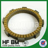CG125 new paper clutch disc for motorcycle,OEM motor parts,brown asbestos-Free