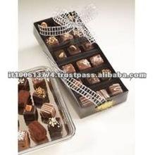 Fine Coffee Flavored Italian Black Chocolates and Sweets