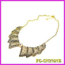 Fashion Jewelry vintage bronze peter pen collars