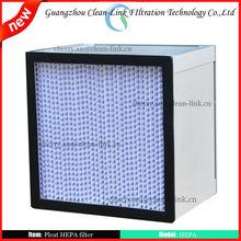 H13 H14 High Efficiency HEPA air filter