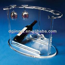 bar acrylic rack,acrylic bottle display rack,red wine rack