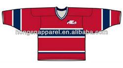 2013 Custom Sublimation Ice Hockey For Hot Sale