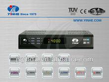 FTA SD DVB S2+T2 receptor satelite