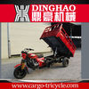 hydraulic heavy duty cargo tricycle for carrying goods