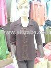 Baju fashion blouse plus size ladies women clothes new design