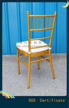 Competitivo in alluminio pieghevole nozze tiffany sedia yc-a22