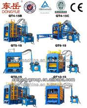 Vibrate and Electric Model Concrete Block Making Machine QT4-24 Cement Block Making Machine