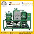 Fason usado de motor de reciclaje de aceite máquinas, negro de aceite diesel purificación/demulsified de aceite purificador de la regeneración/de filtrado de aceite