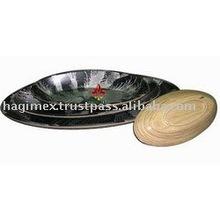 Bamboo Salad Plate