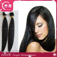 hot sale Virgin hair peruvian hair extension silky straight free sample