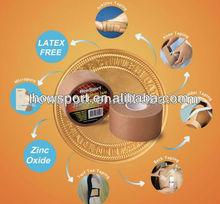 (D)Medical sports tape,Tan/Skin Rayon/Viscose, 25mm*9.1m,