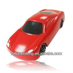 2013 hot selling reasonable price plastic USB car , mini car USB flash drives