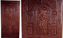 Solid Wooden carved doors
