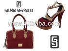 Leather Handbag And Shoes Sets