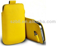 Fashion waterproof Leather Pouch for mobile phone