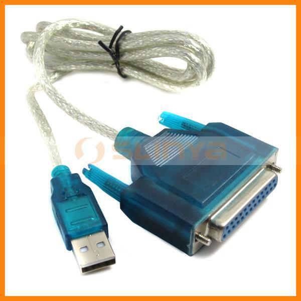 Usb para serial db25 25 pino female parallel printer port - Computer con porta seriale ...