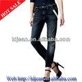 2015 filles de la mode ceinture élastique pantalon skinny jeans femmes jeans vente( ldzq4)