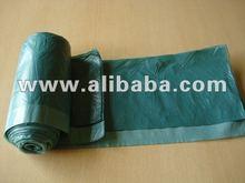 Draw Tape Bags, Light Blue Film