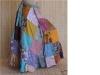 Vintage Square Patchwork Wrap Skirt