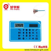 Ultra-thin 3D Sensor Calculator/cute clear plastic calculators