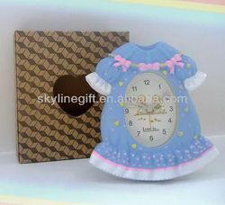 Alarm clock with skirt shape