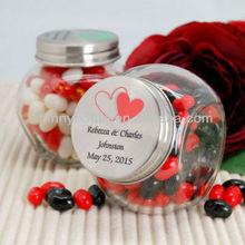 unique candy jars,wedding favor candy jars